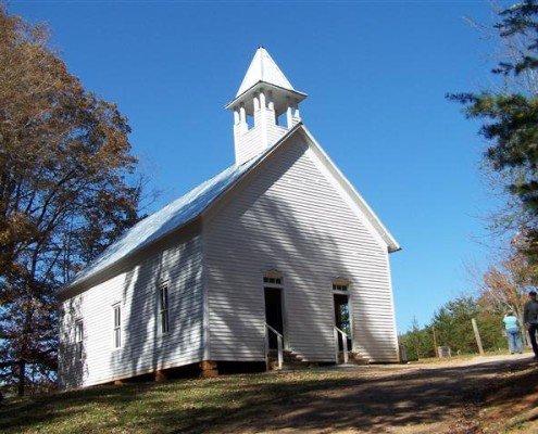Cades Cove Chapel