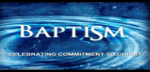 Baptism Celebration & Christian Life Basics