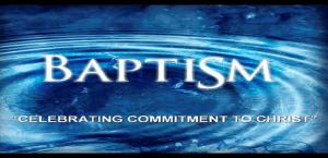 Baptism Celebration & Christian Life Basics