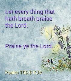 Psalm 150:6