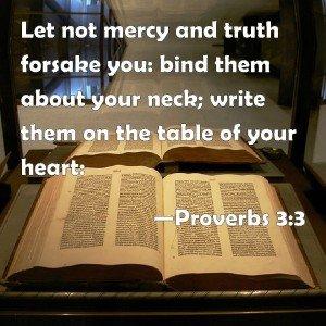 Proverbs on Mercy