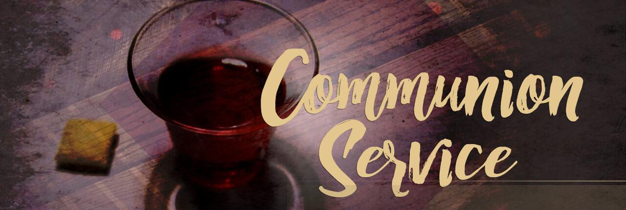 Communion wine and cracker